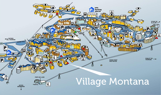 Montana Village Location Val Thorens Accommodation Ski Apartment